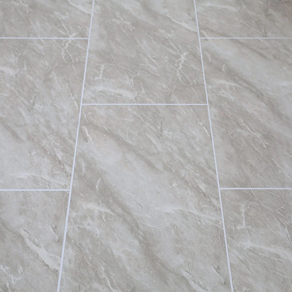 grey marble tile groove bathroom wall panels 8mm shower cladding