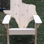 The Classic Texas State Back Adirondack Chair