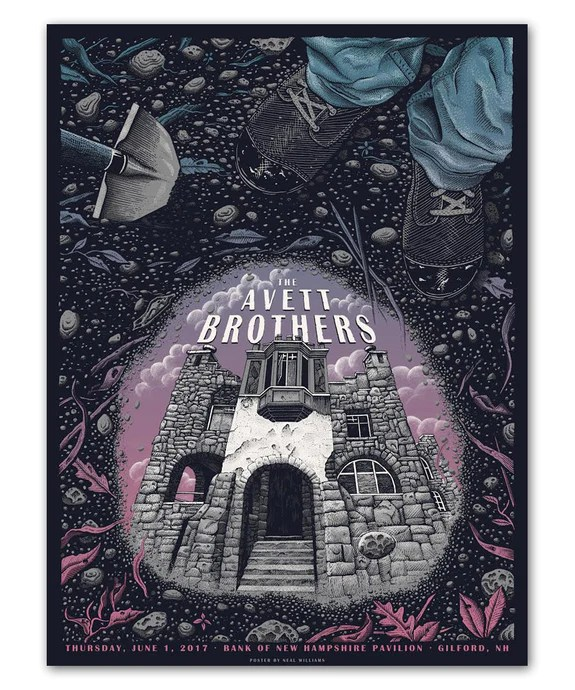 the avett brothers store posters