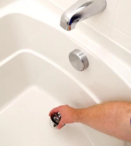 how to remove tub drain stopper fixmydrain com fix my drain