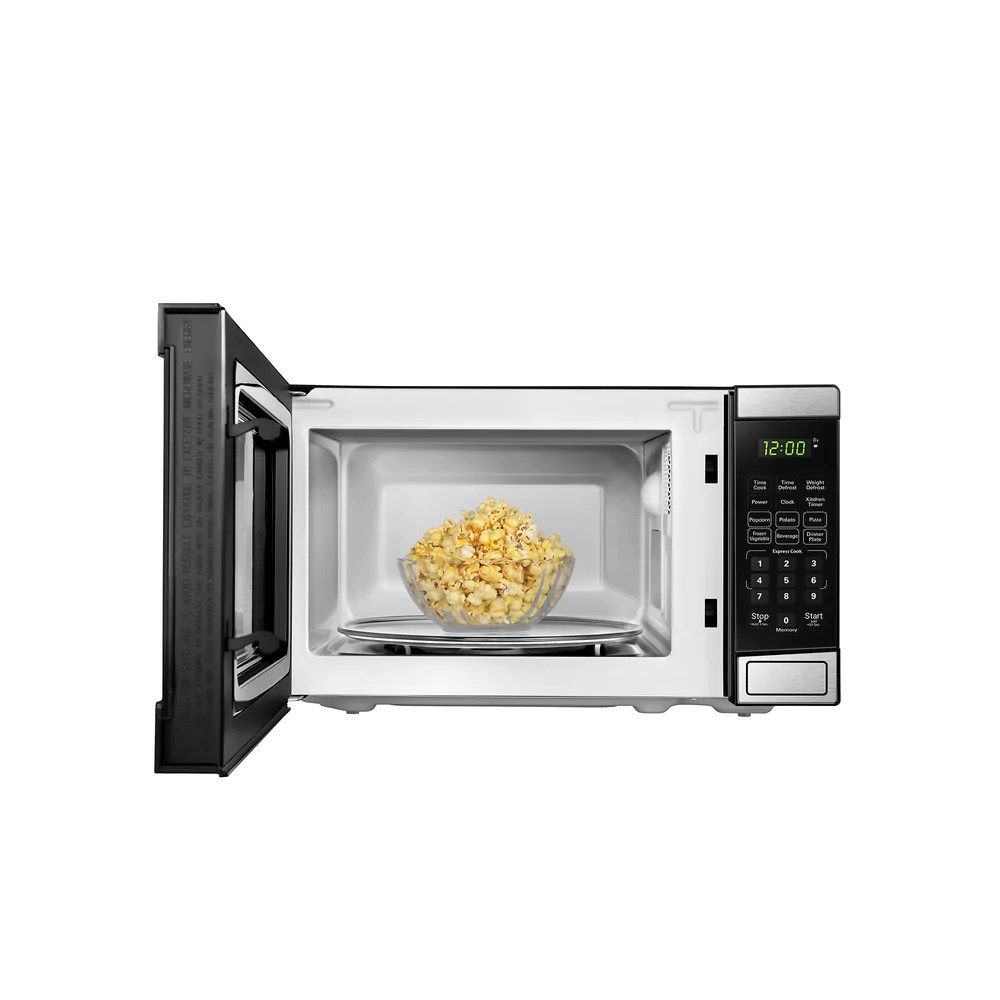 danby microwave 0 7 cu ft stainless steel dbmw0721bbs