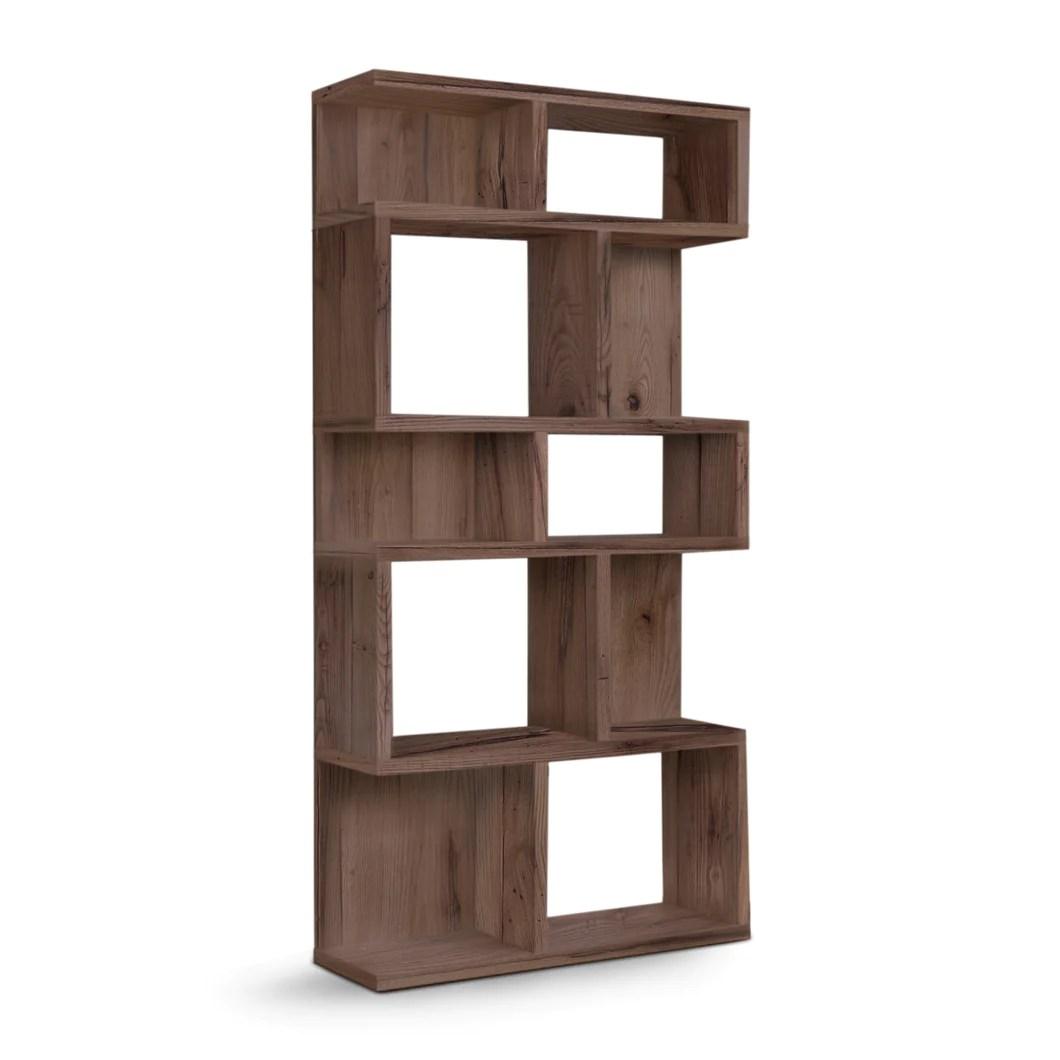 Apolline Reclaimed Wood Bookshelf