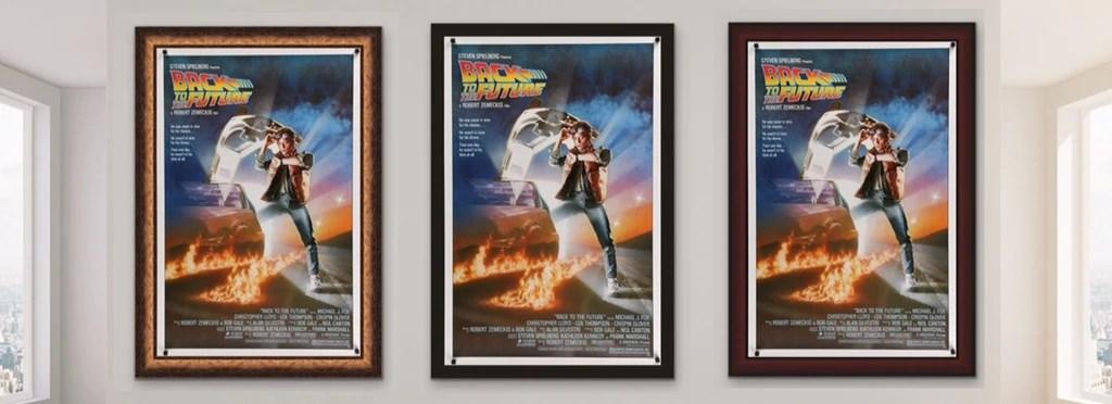 framing movie posters choosing a