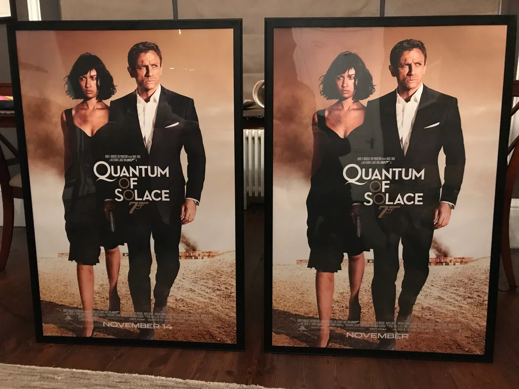 modern movie posters double sided