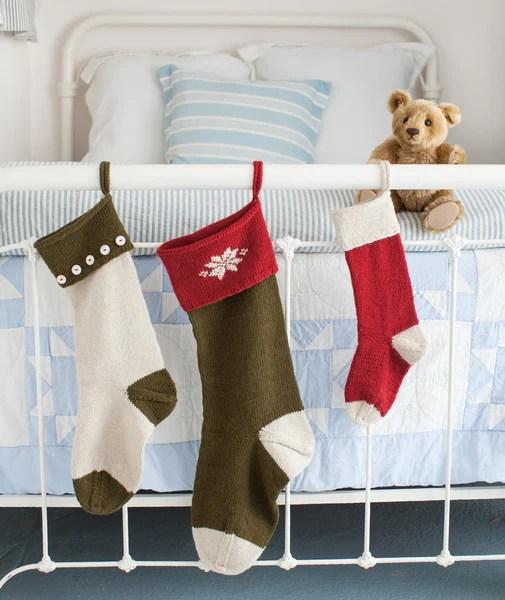 Basic Christmas Stockings Pattern