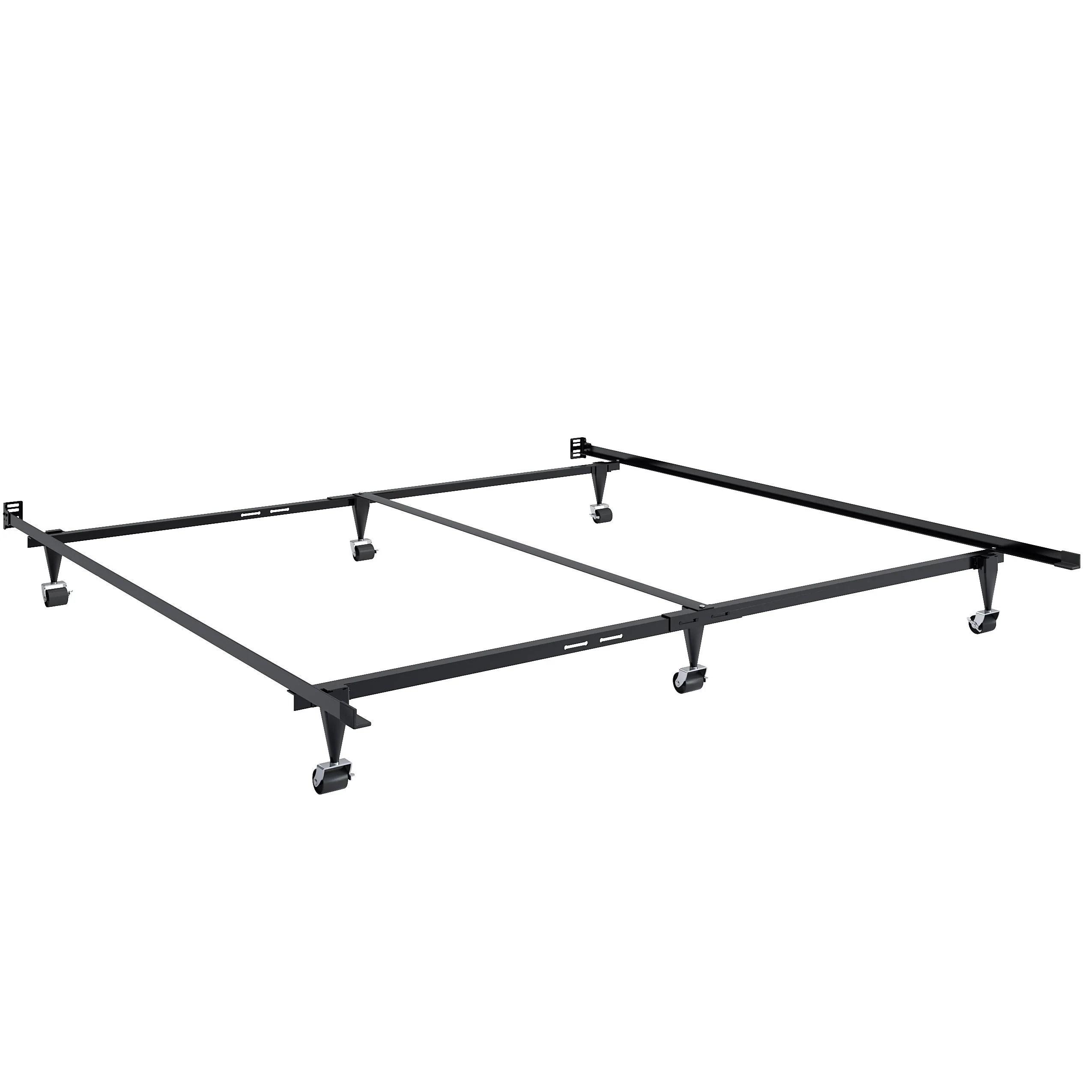 Adjustable Queen Or King Metal Bed Frame Corliving Furniture Us