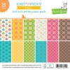 Lawn Fawn Knit Picky Fall Collection 6 x 6 Paper Pad