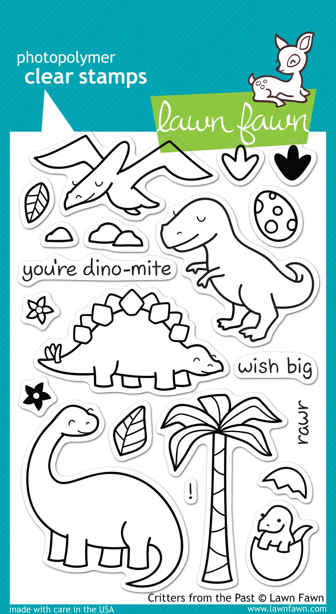 you u0027re dino mite card featuring tim holtz and lawn fawn products