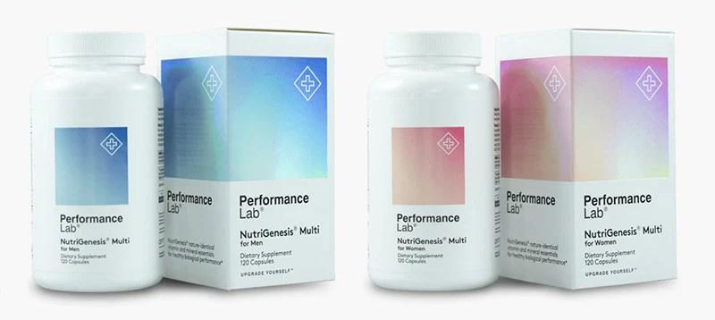 NutriGenesis® Multi for Men & Women – Performance Lab®