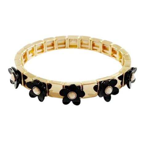 enamel tile bead bracelets caryn lawn