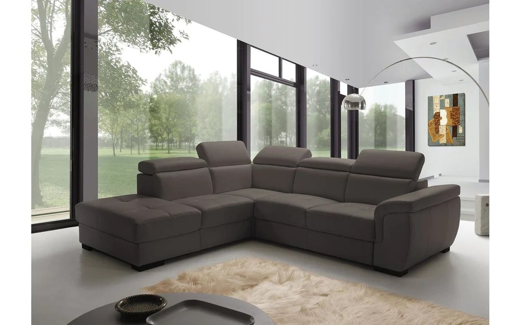 freedom fabric sectional sofa