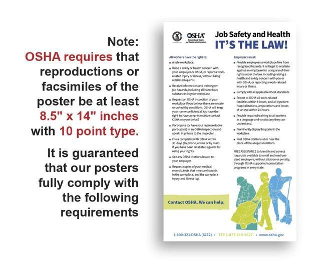 florida state and federal labor law poster 2021