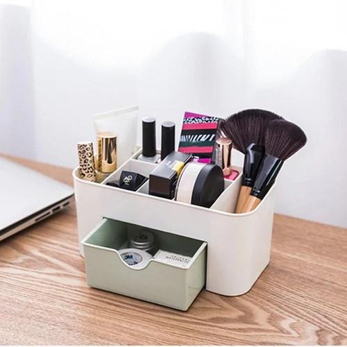 6 Grid Makeup Organizer Storage Box