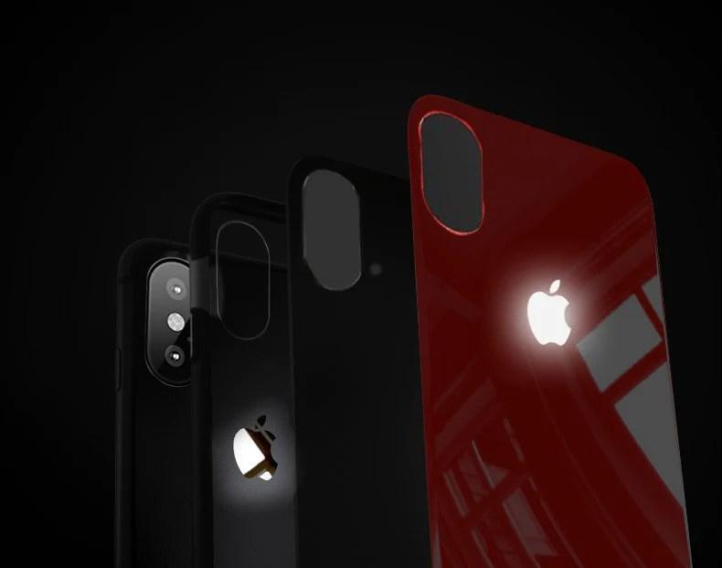 Led Light Apple Logo Case