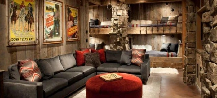 basement man cave ideas on a budget