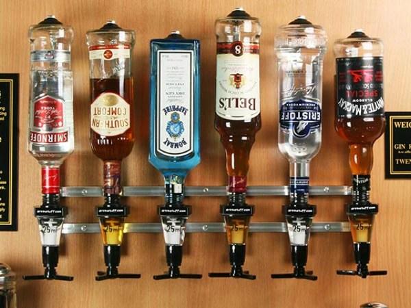 liquor dispenser