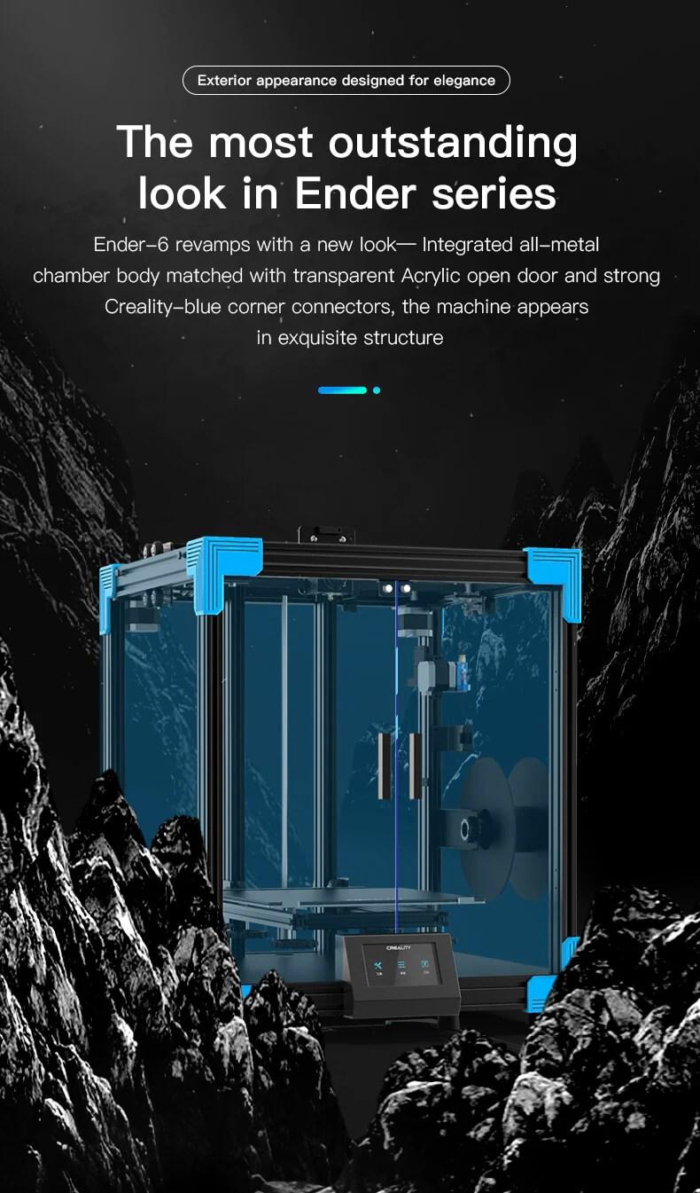 Ender-6 3d yazıcı, Creality Ender-6 coxey 3d yazıcı
