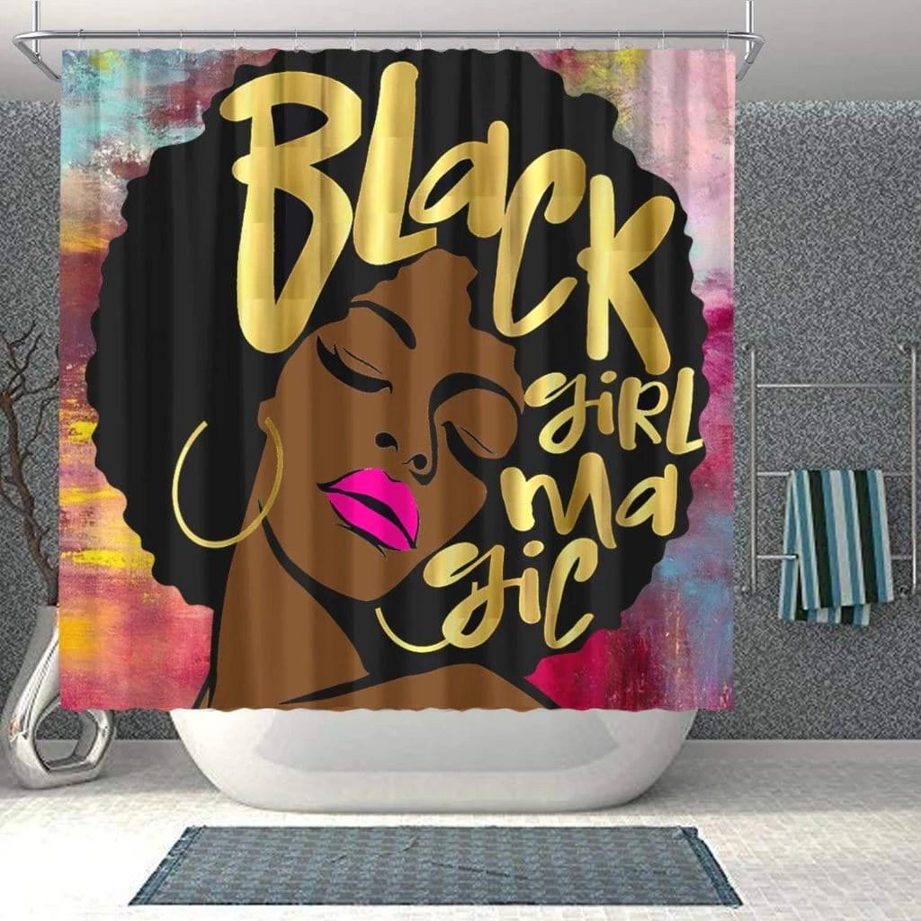 trendy black woman african american