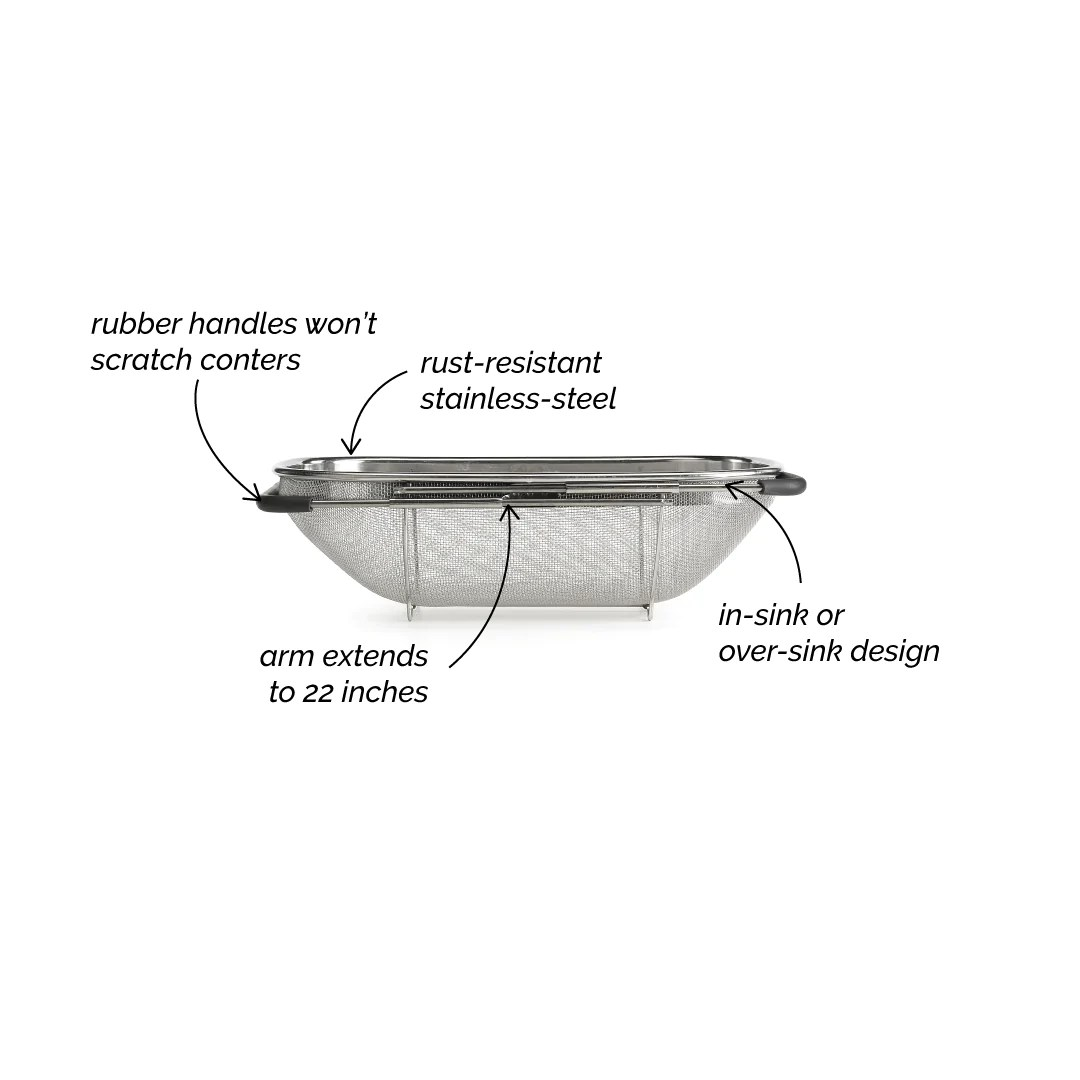 expandable sink strainer polder