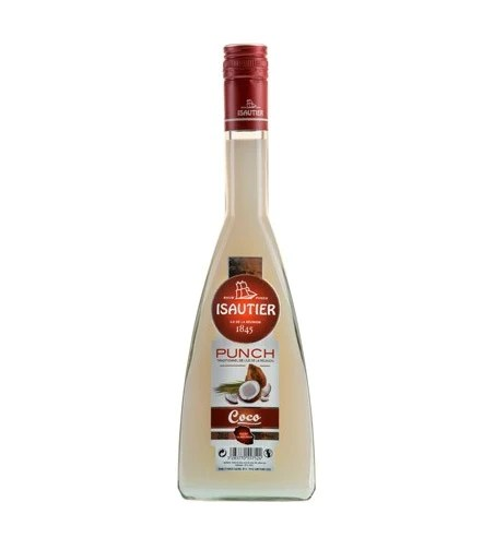 punch coco maloya isautier 70cl pack de 6