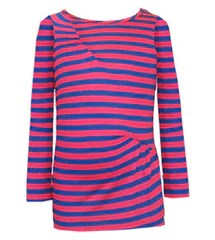 Stella Industries - Tina - Pink and Blue Stripe Shirt