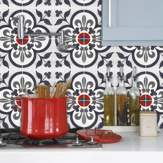 cover up those old kitchen tiles 3