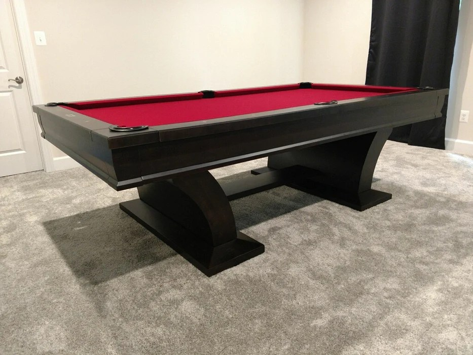 plank and hide paxton pool table including installation
