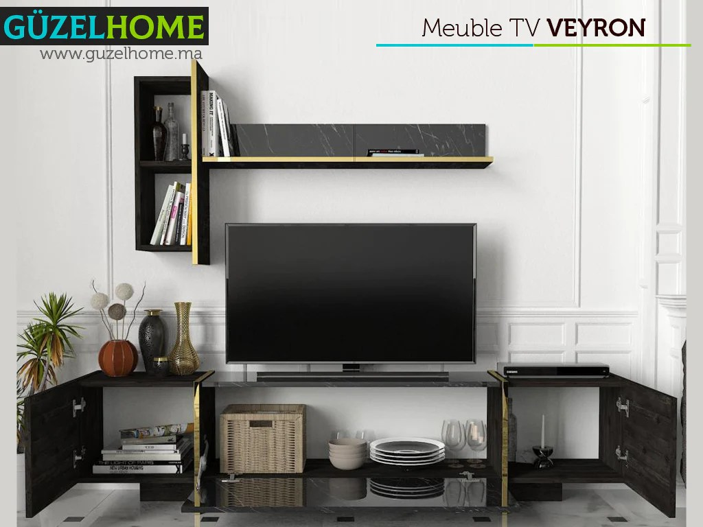 veyron pack exclusif meuble tv et table basse