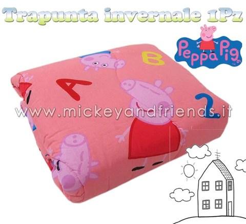 Subito a casa e in tutta sicurezza con ebay! Trapunta Peppa Pig George Invernale Mickey And Friends Shop Italia Abbigliamento Gadget E Regali