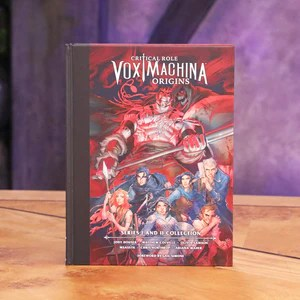 critical role vox machina origins series i and ii library edition hardcover