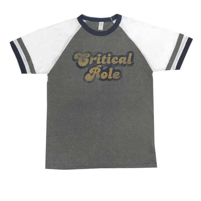 Critical Role Retro Ringer T Shirt