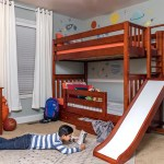 Saleha Updates Sons Room To Twin Bunk Beds With Slide Maxtrix Kids