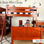 Kids Bunk Beds With Desks Perfect Solutions For Boys Girls Maxtrix Kids