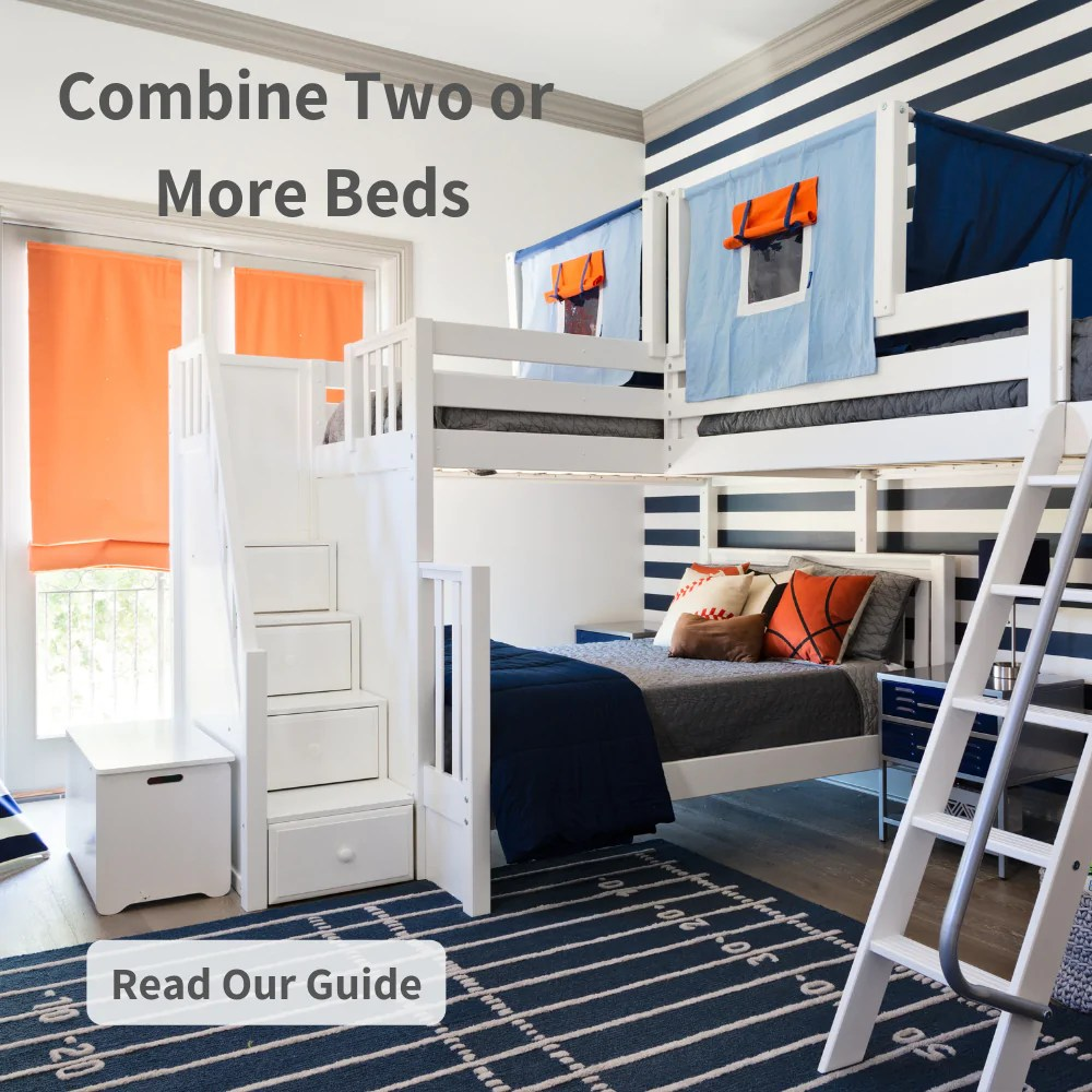 triple bunk beds for your kids shared