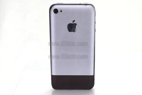 Aluminum First Gen iPhone 4 Decal