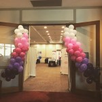 Ombre Pink And Purple Balloon Garland Brown Sugar Party Boutique