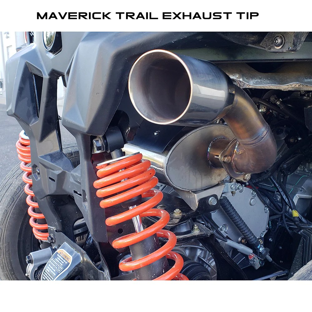 can am maverick trail 1000 exhaust