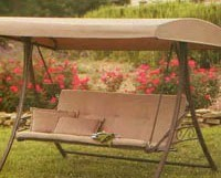 home depot hampton bay s010047 3 person patio swing products