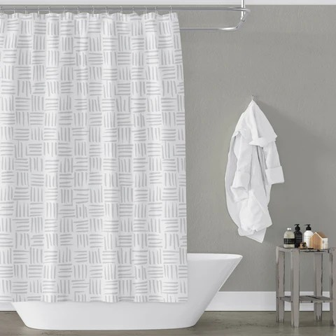 gray shower curtains metro shower
