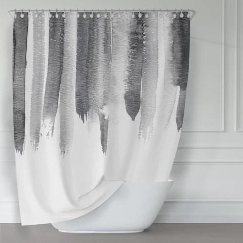 metro shower curtains designer shower