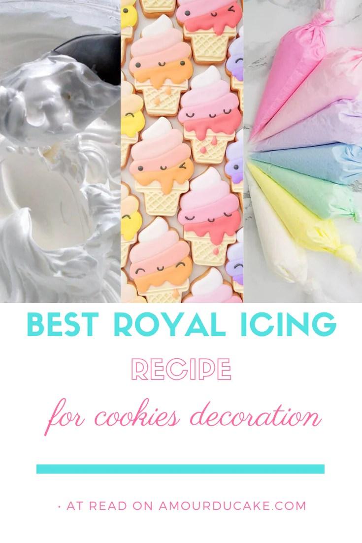 royal pour decoration de biscuits