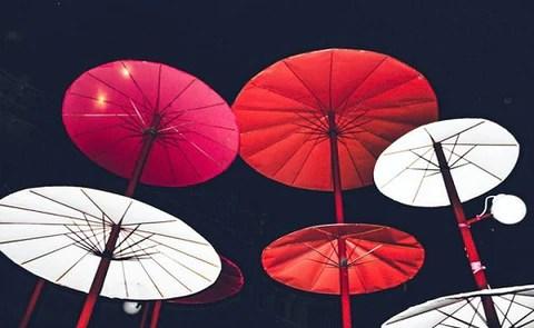 outdoor umbrella with lights best