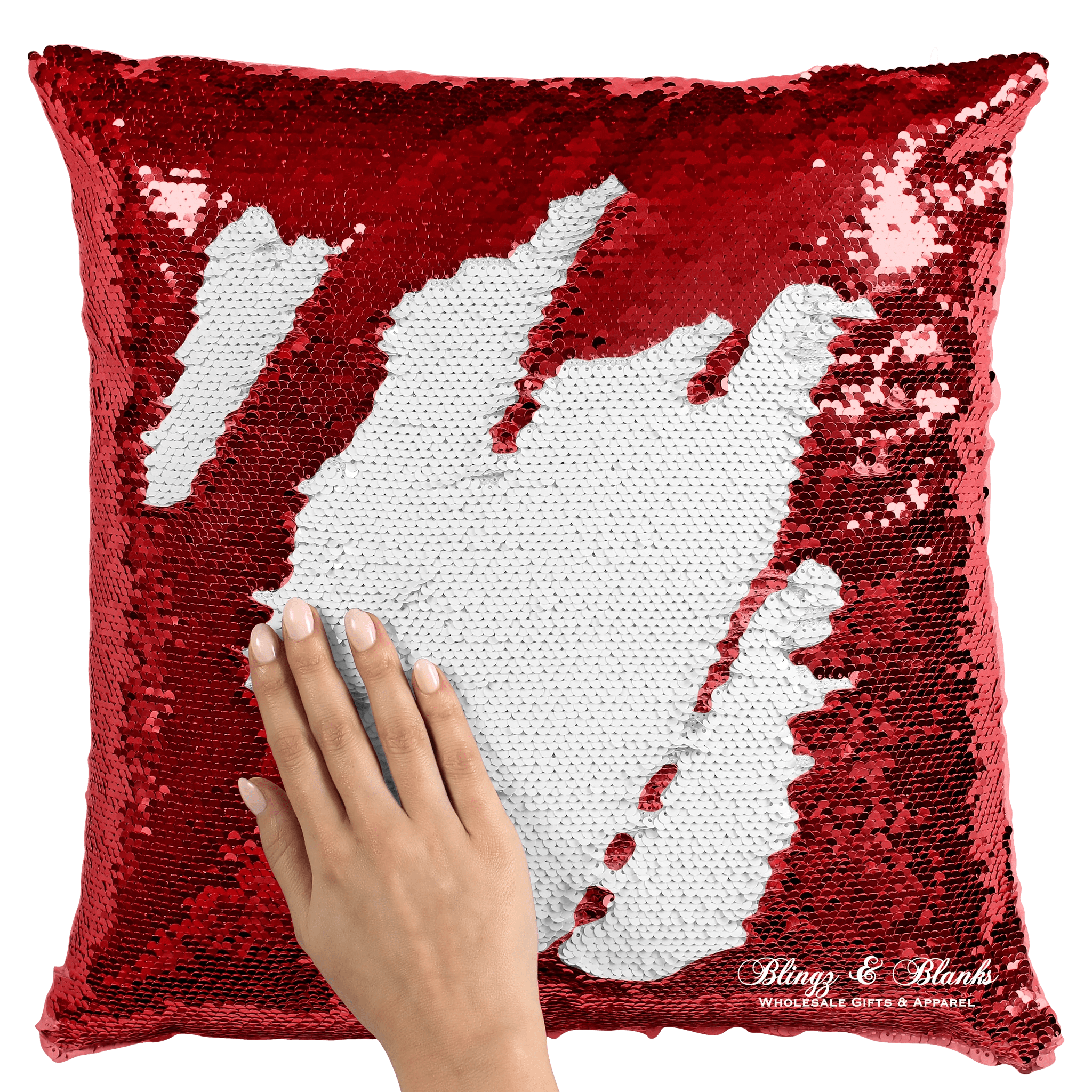 white sequin pillow covers blingz and