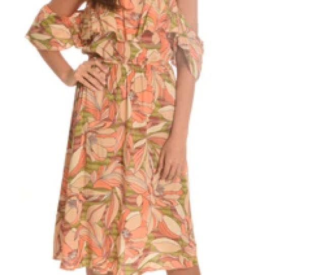 Melon Tube Off The Shoulder Dress