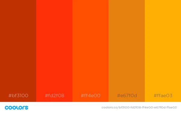Techwear Color Palette Option D - NinjaDark