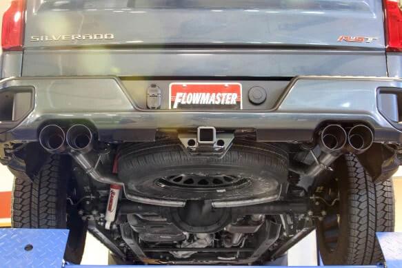 flowmaster exhaust silverado sierra 1500 5 3 crew double cab catback american thunder 2019 817895