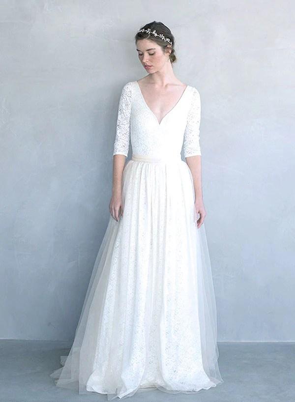 Honey Lace Stretch Bridal Bodysuit TH704 Twigs
