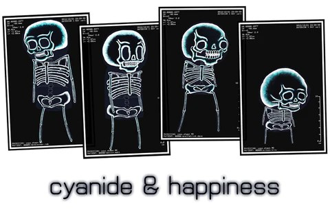 cyanide happiness x ray poster
