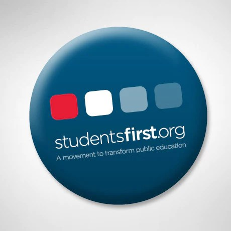 Students First Button
