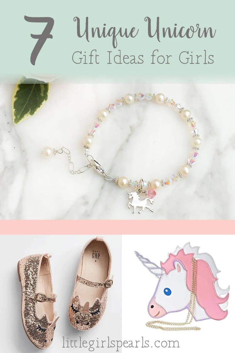 7 Unique Unicorn Gift Ideas For Girls Little Girl S Pearls